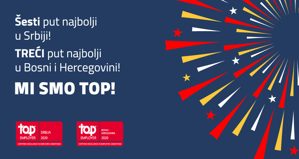 PepsiCo Company Western Balkans won the Top Employer award again